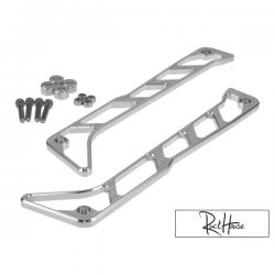 Billet Step Rails FLP Lusso CNC Aluminium Honda Ruckus