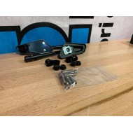 Mirror set F1 Series CNC Black M8/M10 (1X) FOR SPARE PARTS OR 1 MIRROR ONLY