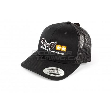 Baseball Cap Stage6 Trucker Black