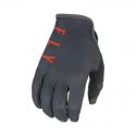 Gloves Fly Lite Grey / Orange / Black