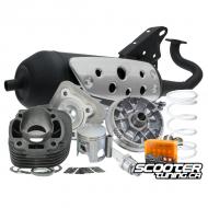 Engine Package Malossi Sport 70cc (CPI-Vento-Keeway)