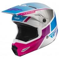 Helmet Fly Kinetic Drift Pink / White / Blue
