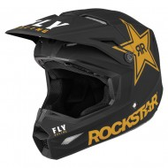 Helmet Fly Kinetic Rockstar Black / Gold