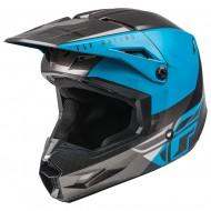 Helmet Fly Kinetic Straight Edge Blue / Grey / Black