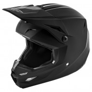 Helmet Fly Kinetic Solid Matte Black