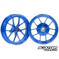 Forged Wheel set CNC Blue Honda Dio / Elite