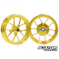 Forged Wheel set CNC Gold Honda Dio / Elite