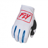 Glove Fly Lite White / Red / Blue