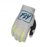 Glove Fly Lite Grey / Teal / Hi-Viz