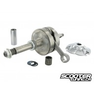 Crankshaft Polini Big Evolution 44mm stroke/85mm conrod