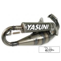Exhaust system Yasuni C30 Kevlar Piaggio