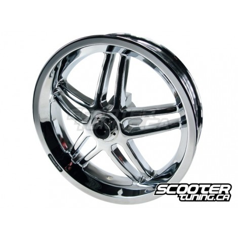Front wheel Stage6 13 inch chrome