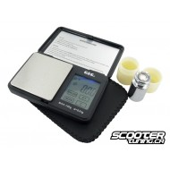 Digital scale, with LCD touch screen
