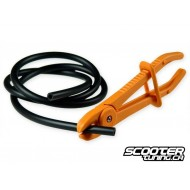 Hose pincher, for oil and fuel hose
