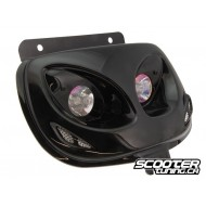 Twin headlights BCD Evo 2 black