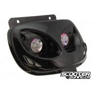 Twin headlights BCD Evo 2 black