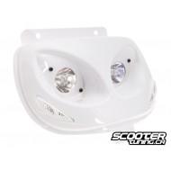 Twin headlights BCD Evo 2 white