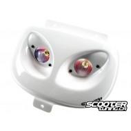 "Twin headlamps ""double optic"" BCD Evo white"
