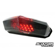 Tail light STR8 Black-Line LED universal 15x8.5cm