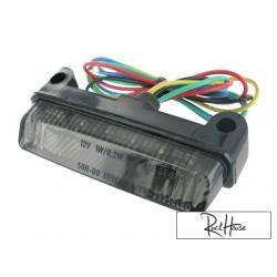 Rear light STR8 Black-Line MINI LED universal
