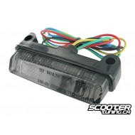 Rear light STR8 Black-Line MINI LED universal