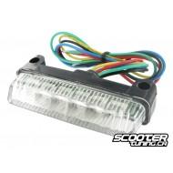 Rear light STR8 MINI LED universal, white