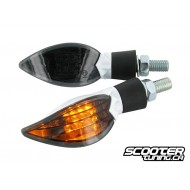 Indicators STR8 Curve LED Black Line, white