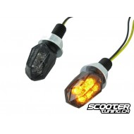 Indicators STR8 LED Mini II Black-Line, black / black