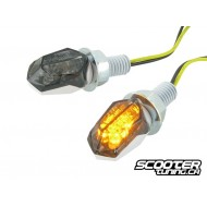 Indicators STR8 LED Mini II Black-Line, white / black