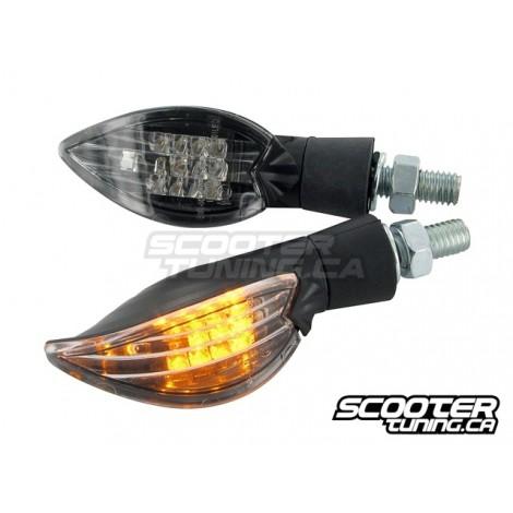 Indicator set STR8 Curve LED, black