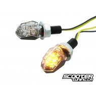 Indicators STR8 LED Mini II black / transparent