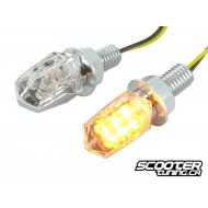 Indicators STR8 LED Mini II chrome / transparent