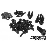 Fairing screws STR8 black