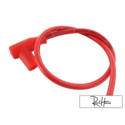 Ignition cable Motoforce Racing Red (Removable Tip)
