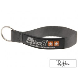 Lanyard Stage6 black/white/orange