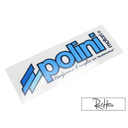 Sticker Polini 11 x 3.5cm