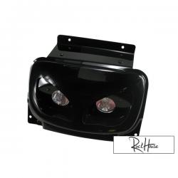 Twin headlamps BCD Rx Black