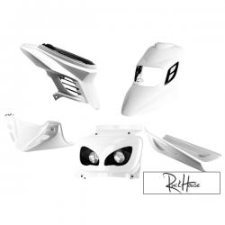 Complete Fairing Kit BCD RX White