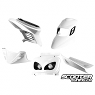 Complete Fairing Kit BCD RX White