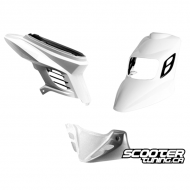 Complete Fairing BCD RX White