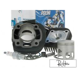Cylinder kit Polini CORSA 70cc 10mm Minarelli Horizontal