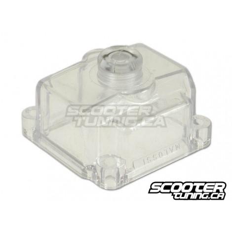 Malossi float bowl transparent PHBG 19/21mm