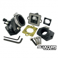 Intake System Stage6 MKII, Piaggio, incl. 23mm adapter and Stage6