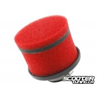 Racing air filter Stag6, short, red