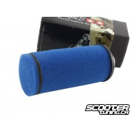 Racing air filter Stage6, long, blue