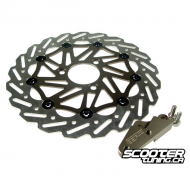 Stage6 280mm Oversized Brake Disc - Stainless Steel