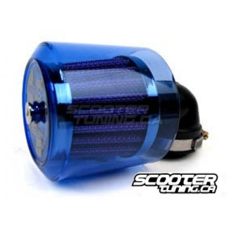 Airfilter KOSO Racing, blue transparent