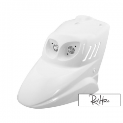 "Front Fairing BCD ""double optic"" White"
