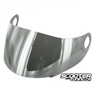 Visor Stage6 for Stage6 MKII helmet silver reflected