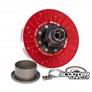 Rear pulley MHR Overrange Aluminium